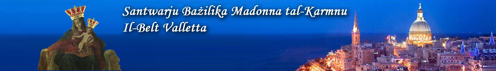 Santwarju Bażilika Madonna tal-Karmnu Valletta